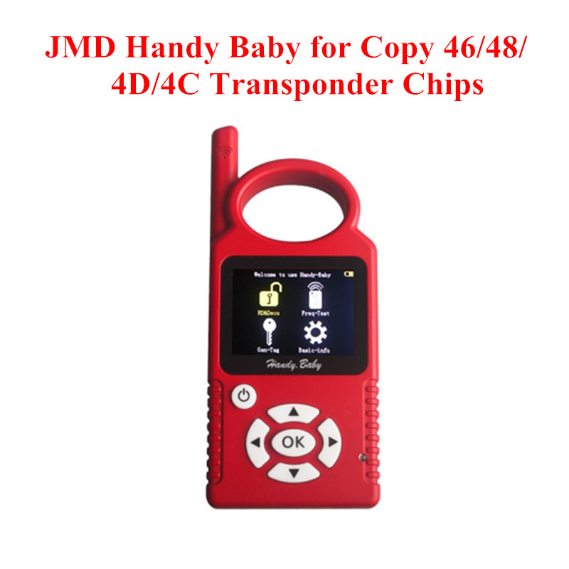 JMD Handy Baby Hand-held Car Key Copy Auto Key Tool for 4D/46/48 Chips CBAY Handy Baby(China (Mainland))