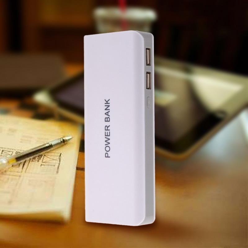 Hot USB Power Bank Kit 5x18650 Battery Charger DIY Box Case Holder Free Shipping