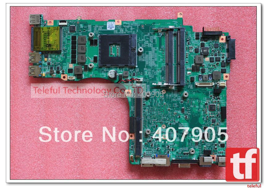 FREE SHIPPING Via DHL/Singapore post Motherboard MS-17611 for MSI GT780DXR NOTEBOOK Model(China (Mainland))