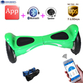 New style HX APP bluetooch Self Balancing Scooter led light electric hoverboard electric standing drift skateboard