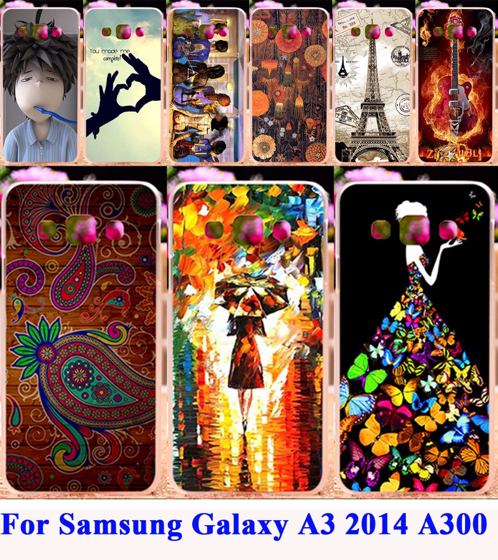Silicon Durable Protective Phone Shell Hood Samsung Galaxy A3 Case 2014 A300FU A300 4.5 Cover Rubber Housing Skin Shield Bag  -  R-mart store