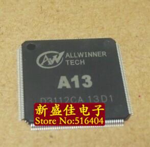 FREE shipping ALLWINNER CPU A13 CHIP original 5PCS/LOT(China (Mainland))