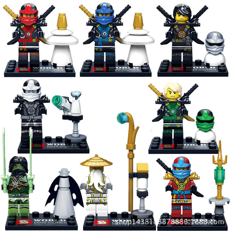 TMNT Teenage Mutant Phantom Ninja Turtles Minifigures Building Blocks Ninjago KAI Bricks Kids Toys Compatible Lego  -  Dracule Mihawk store