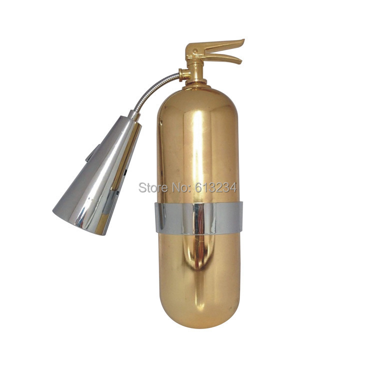 Free Shipping 8 Pieces USB Fire Extinguisher Lamp Wall-mounted Night Light(China (Mainland))