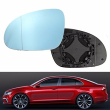 Buy Left Front Diver Side Wing Mirror Blue Tinted Glass Heated VW /Jetta /Passat GTI MK5 MK6 B5.5 B6 1911902 for $9.66 in AliExpress store