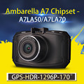 Ambarella A7 Car DVR GS90C GS90A G90 Car Camera 1296P HD DVR Recorder Dash Cam GPS
