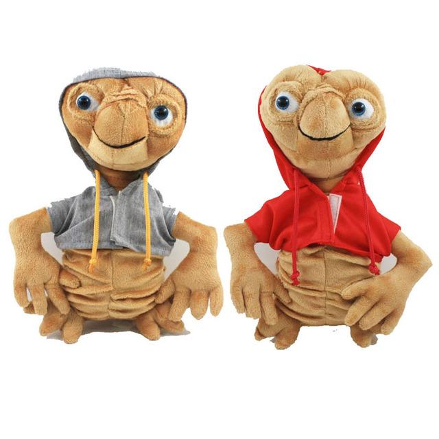 Горячая ET Плюшевые Игрушки 22 см Серый/Красный Kawaii ET Мягкая Чучело Куклы Детей Игрушки Высокого Качества