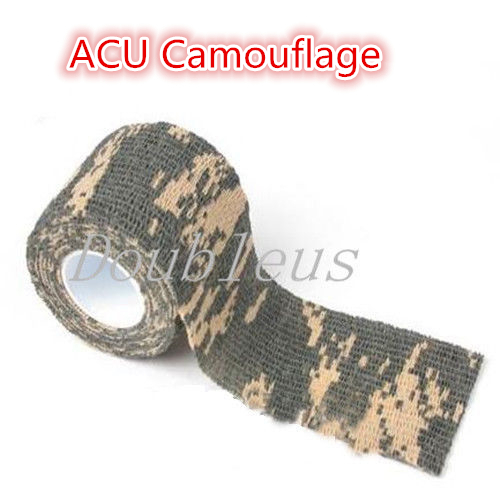 5cm x 4 5m Kombat Army Camo Wrap Rifle Shooting Hunting Camouflage Stealth Tape