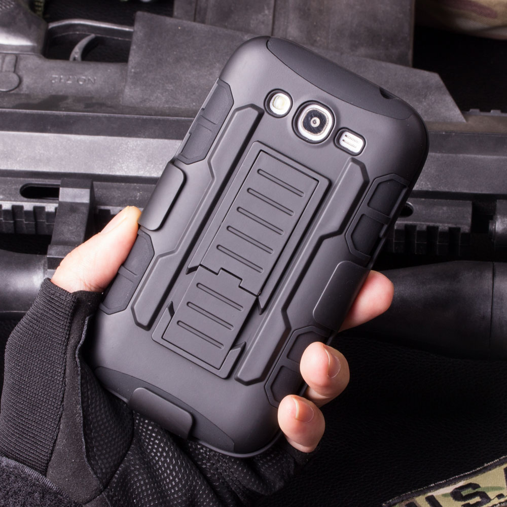 For Samsung Galaxy S7 S4 S5 S6 Active Edge Plus Note 2 3 4 5 I9082 I9080 G530 Rugged Armor Holster Hard Case Cell Phone Cover(China (Mainland))