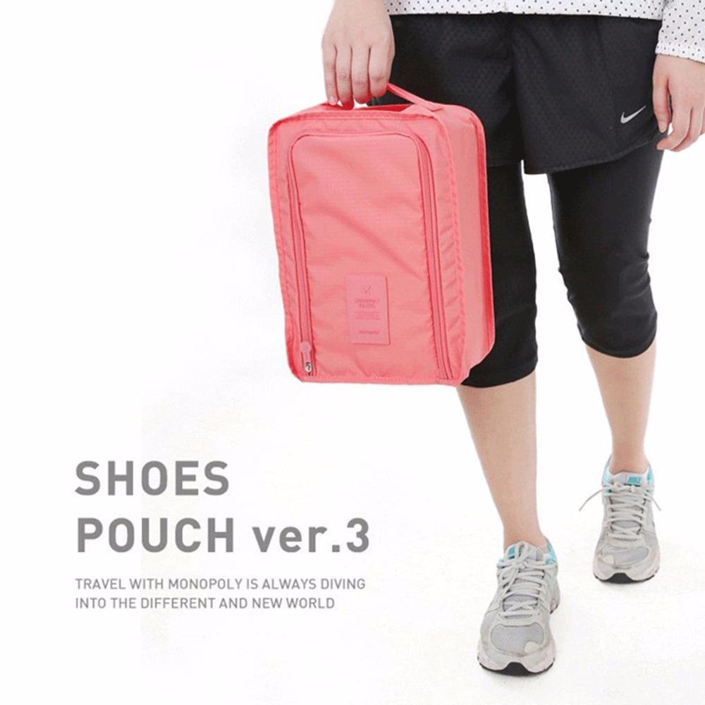 Waterproof Shoe Bag Travel Pouch Shoe Storage Bag Bottle Bag Toiletries Laundry Pouch 3colors 99(China (Mainland))