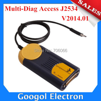 New Arrival V2014.01 Multi-Diag Access J2534 Pass-Thru OBD2 Device MultiDiag Multi diag Access Multi-Di@g Access J2534 Pass-Thru