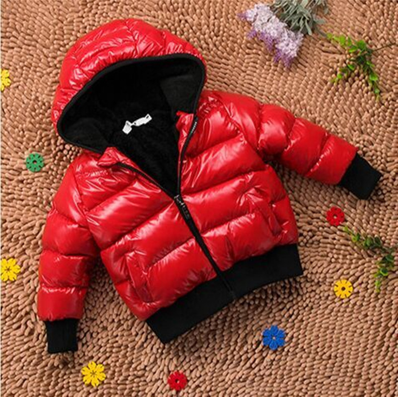 2-7 Years Old Baby Cotton Clothes,2015 New Year Winter Coat Jacket Children Winter Coat Children's Clothes For Girls(China (Mainland))