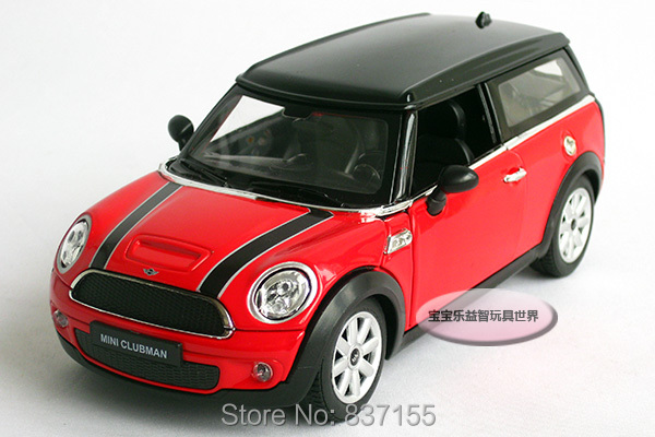 New 1:24 Mini Cooper Clubman Alloy Diecast Car Model Toy Collecion Red B1517(China (Mainland))