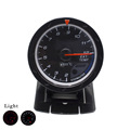 60mm Car Exhaust Gas Temperature Gauge EGT EXT With Sensor Black Face Red White Light Car