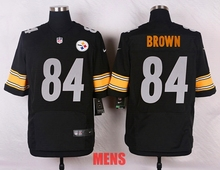 100% Stitiched,high quality,Pittsburgh steeler Antonio Brown for mens women and kids(China (Mainland))