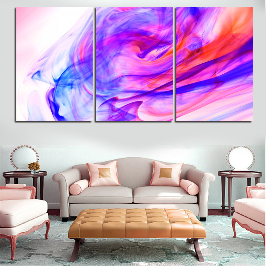 3 Pcs Wall Art Cool Abstract Landscape Picture Modern Home Decoration Living Room Or Bedroom Canvas Print Painting Wall Picture