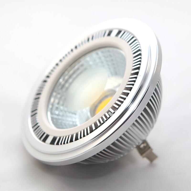G53 AR111 LED Bulb Lamp 15W COB Spot Lights DC12V No-Dimmable Warm White /Nature White/Cool White G53 AR111 Lights(China (Mainland))