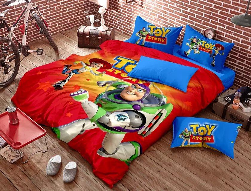 Achetez en gros toy story literie en ligne des grossistes toy story literie chinois - Housse de couette toys story ...
