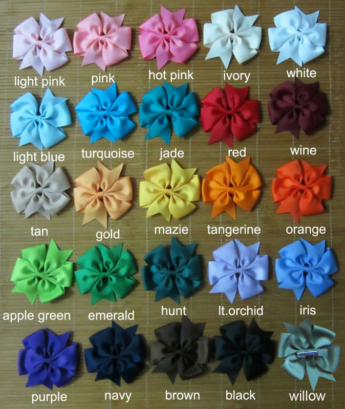 60pcs 4 Inch girl hair bows Toddler hair bows girl hairbows extra large hairbow big ribbon bow girl large bows 25 colors to pick<br><br>Aliexpress