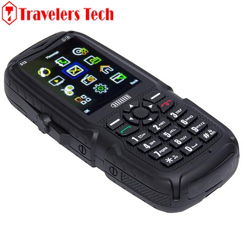 Cheap 3 SIM Card Mobile Phone Power S12 4200mAh Big Battery Bluetooth FM Radio Tri SIM Power Bank Rugged Phone(China (Mainland))