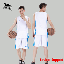 Breathable Mens Sleeveless Basketball Jersey 2016 2017 Cheap Throwback Basketball Shirt Custom Training Uniform Gym Tracksuit