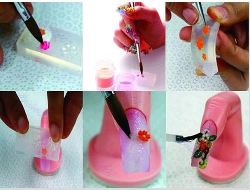 Наклейки для ногтей Other A25Sell Sinensis 3D DIY D2409