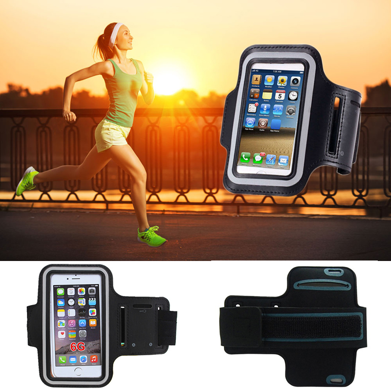 "Armband Case for iPhone Running SPORT GYM Armband Mobile Phone Bag for iPhone 6 4.7"" Jogging Running Music Arm Band Pouch(China (Mainland))"