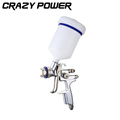 CRAZY POWER 600ml Pneumatic professional Spray Gun 1 3MM Nozzle HVLP Spray Gun Air Paint Spray