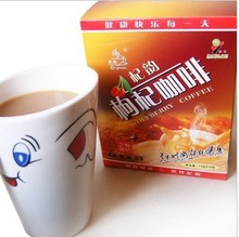 Top thick Chinese wolfberry coffee 234 g instant zhongning leisure keeping in good health Free shipping