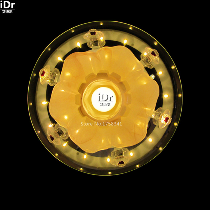 Crystal LED lamp living room luxury living room bedroom hallway lamp bedside lamp backlight Ceiling Lights wwy-0177(China (Mainland))