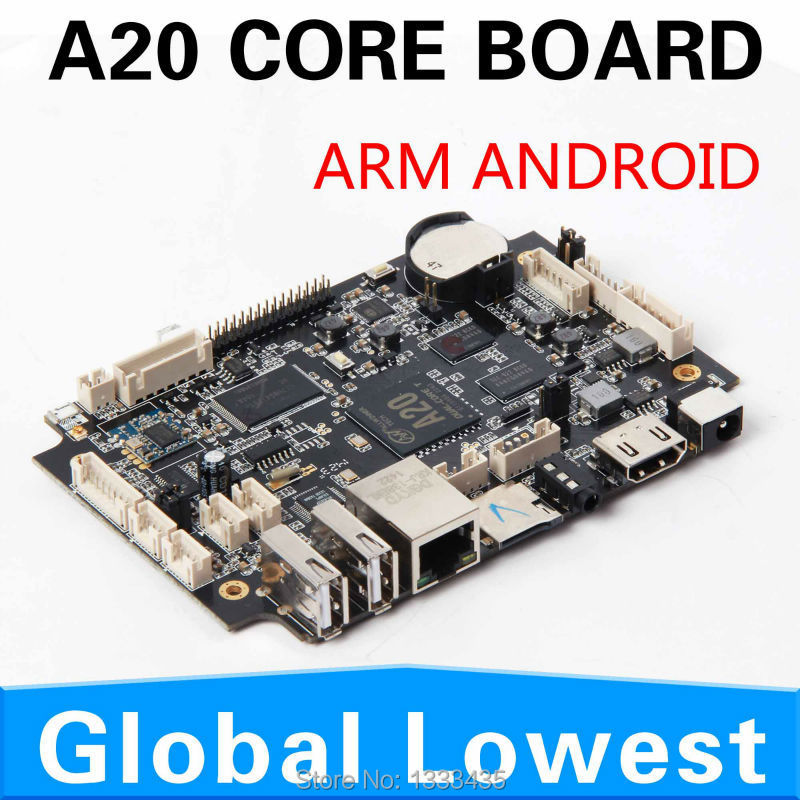 2014 New CPU mini motherboard, Nettop with 4*USB 2.0, HDMI, Fanless, WiFi, supported cheap android mainboard(China (Mainland))