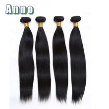 queen love Hair Product 100% Straight Virgin Hair Extensions Peruvian Virgin Hair Weave 3pcs Per Bundles(China (Mainland))