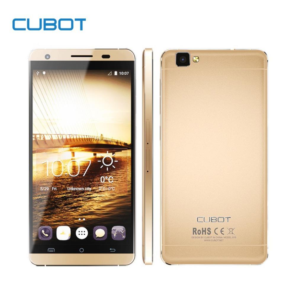 Original Cubot X15 Smartphone 5.5 FHD 1920*1080 2.5D JDI 16MP 5p Camera Android 5.1 4G LTE MTK6735A Quad Core 2G RAM 16G ROM