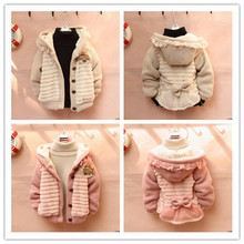 2016 New Spring arrival KIDS Wool and cashmere girl's fashion hoodie free shipping(China (Mainland))