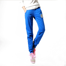 2016 explosion models selling fashion fabric cotton casual pants Wei pants / cotton / Korean / feet pants / sports pants(China (Mainland))