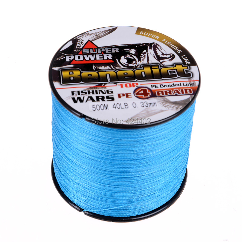 High quality pe braided line 500m japan multifilament for Fishing line brands