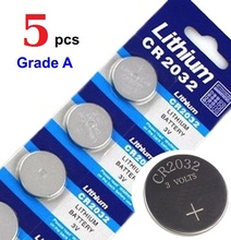5 pcs card CR2032 BR2032 CR2332 BR2332 L14 cr2032 3v lithium battery Cell Button Scale LED watch Batteries 2032