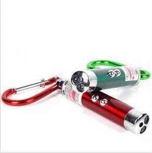 Uv light money detector light flashlight small three-in mini flashlight infrared laser light 21g(China (Mainland))
