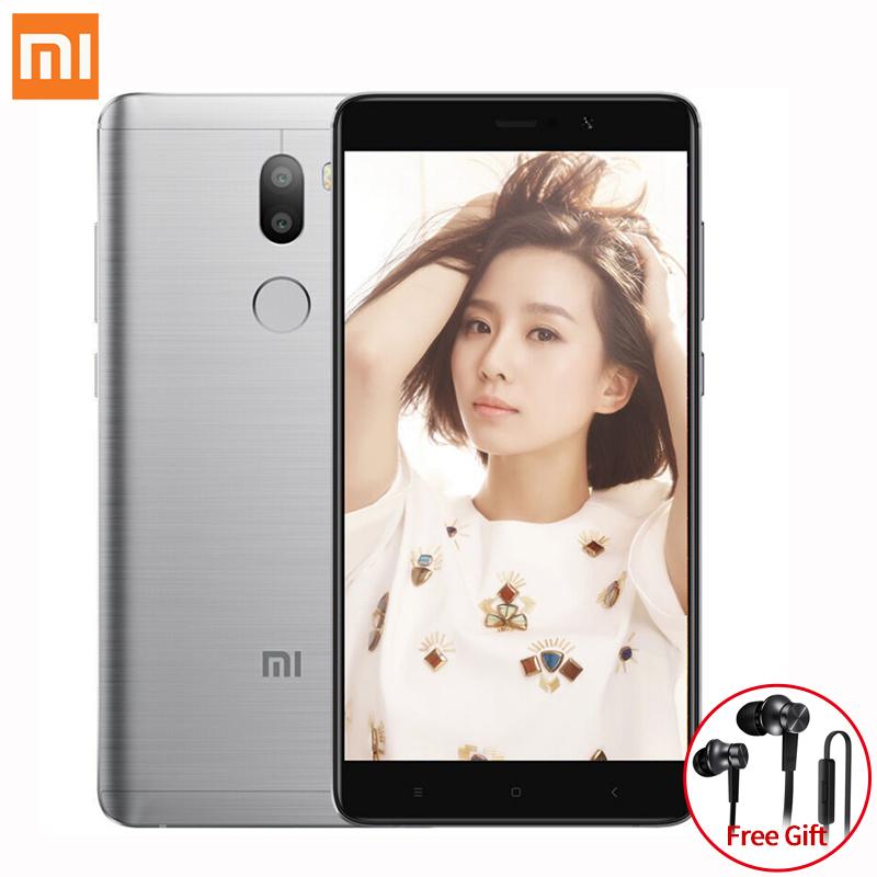 Earphone Free Gift!Original Xiaomi Mi5s Plus 4GB RAM 64GB ROM smartphone 5.7'' Snapdragon 821 Mi 5s Plus Phones(China (Mainland))