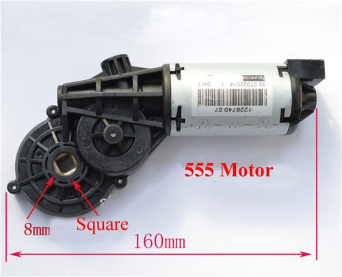 12v 24v Dc Worm Gear Motor Magnetic High Torque Gearmotor 22rpm 50rpm 11kg Cm Free Shipping In