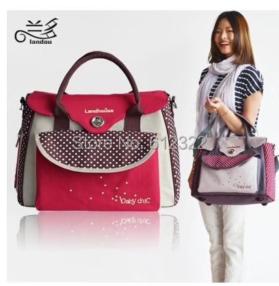 Free shipping multifunctional bolsa maternidade baby diaper bags nappy bags mummy maternity handbag shoulder bag messenger bags(China (Mainland))