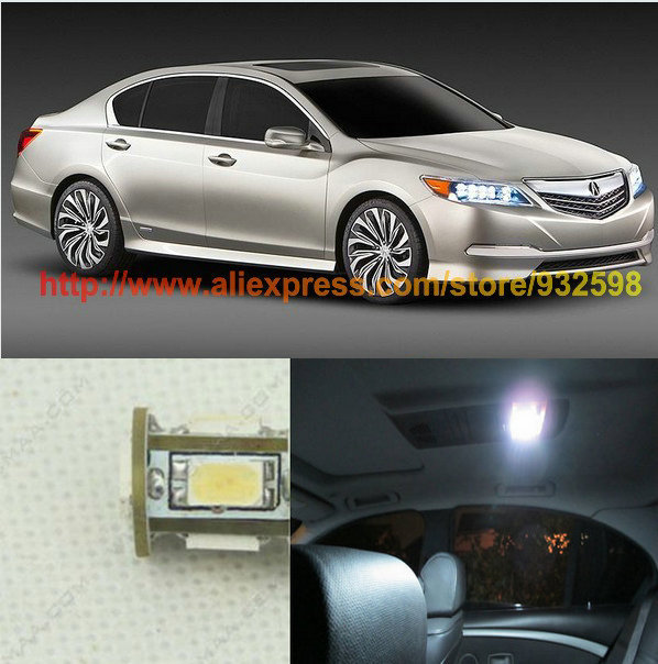 Лампа для чтения Iculed 2 /5630 5SMD 12v Acura MDX RDX RLX TL TSX 5seats waterproof xpe material non slip full surrounded car floor mats for 09101112131415 acura acuratl zdx rlx mdx rdx
