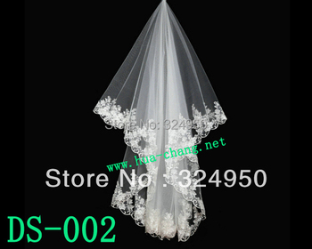 New Classy Wedding Dress Accessories Lace Bride Hair Accessory Short  Veil YZ123012