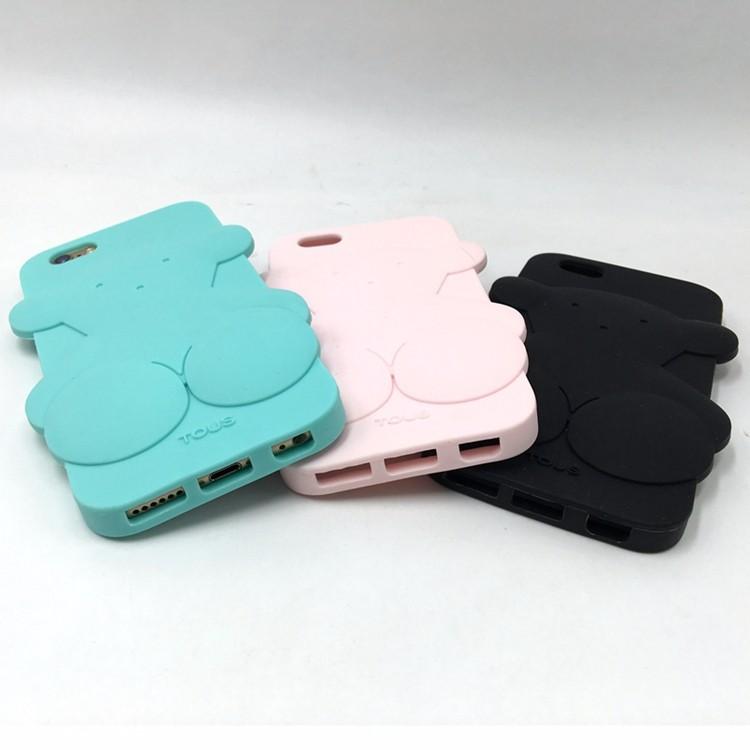 For iPhone 5 5s 5c 6 4.7″ 6 Plus 5.5″ 7 7 plus Cute Bear Case For Huawei P8 lite P9 P9 lite Cover oso Fundas p20