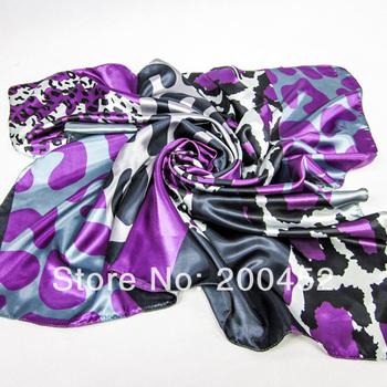 Free shipping! Ladies'  Fashion  print square big scarf  shawl wrap SMT122