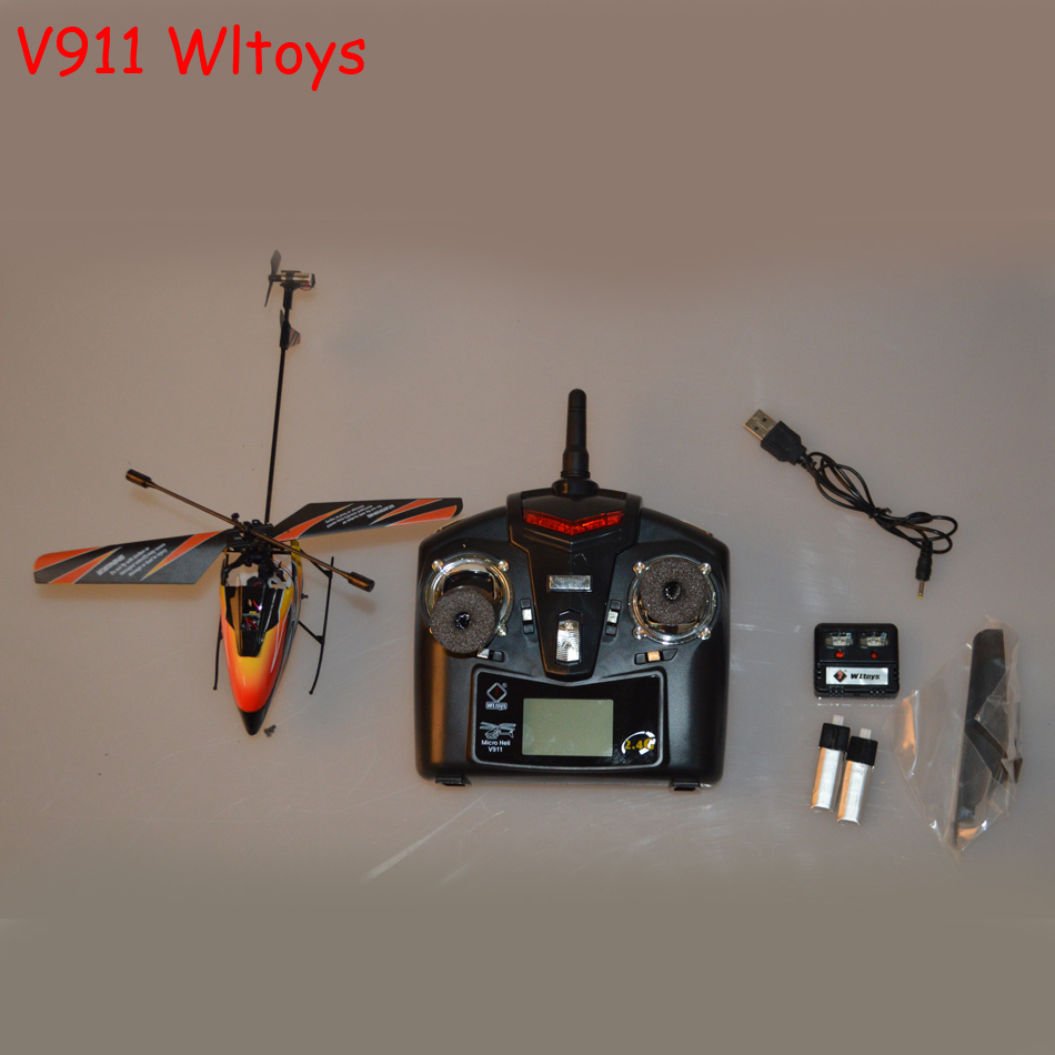 v911 Wltoys rc helicopter remote control helicopter rc drone v911 helicopter v911 helicopter 4CH 2.4Ghz Single Blade Propeller(China (Mainland))