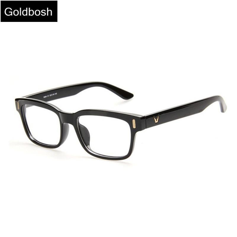 optical glasses women eyewear frames V-shaped men glasses frame Retro fashion glasses  Unisex plain glass spectacles