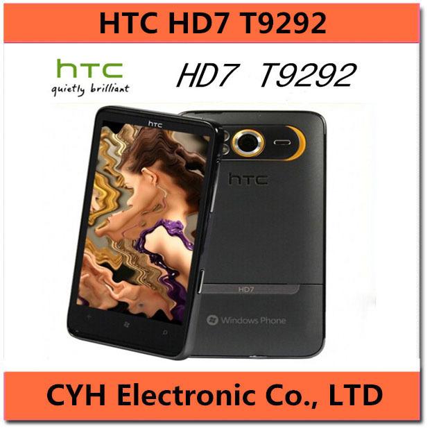 "HD7 Original HTC HD7 T9292 GPS 5.0MP Wi-Fi 5.0MP 4.3""TouchScreen Microsoft Windows 7.5 Cell phone(China (Mainland))"