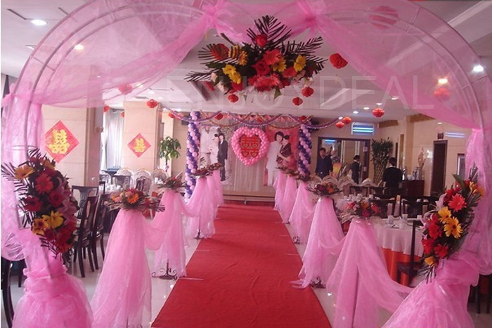 Organza Table Runners Stain Chair Tie Ribbon Decoration for Wedding Party(China (Mainland))