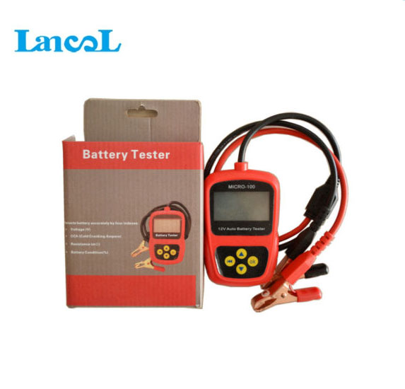 Car battery tester MICRO-100 Lancol battery load tester 12V(China (Mainland))
